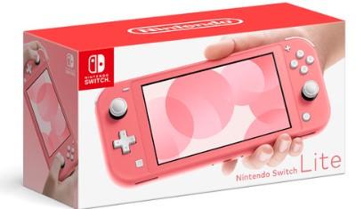 Nintendo Switch Lite コーラル